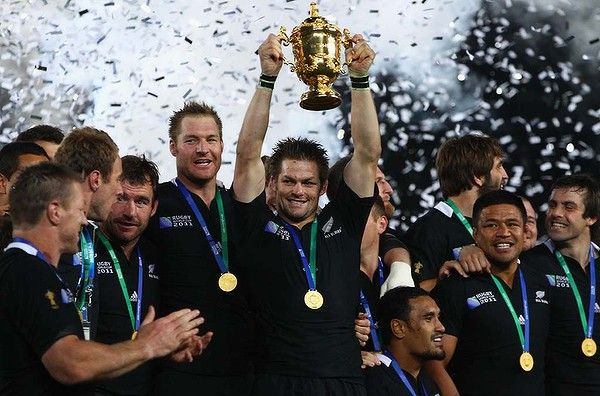 NZ All Blacks ... winners of the Rugby World Cup 2011