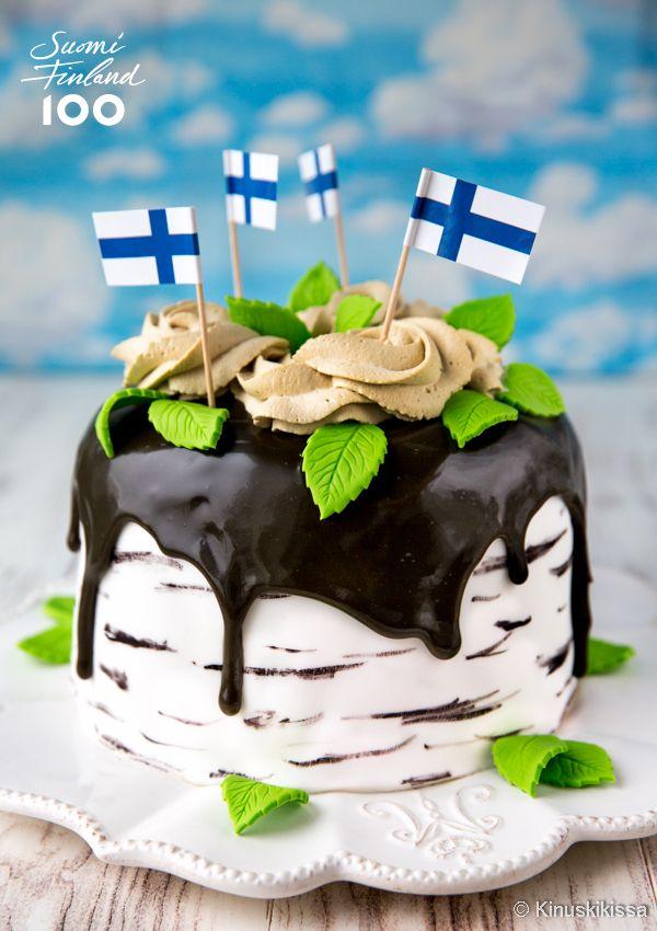 Suomi 100 -kesäkakku
