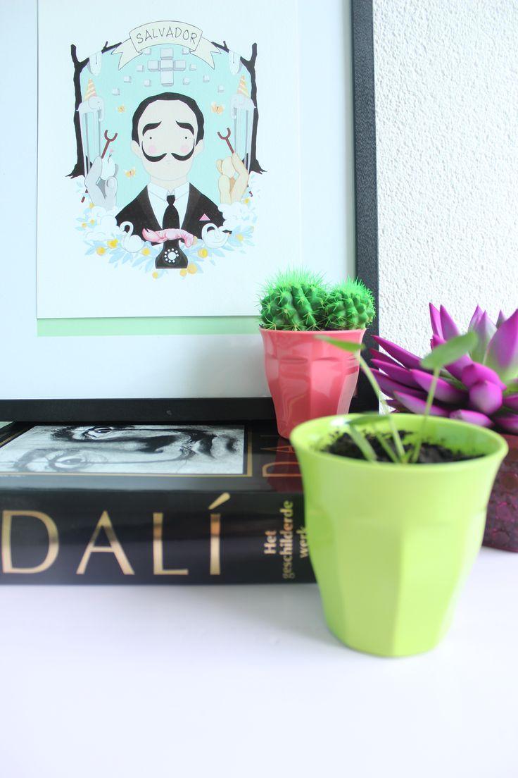 Urban Jungle Bloggers: Plants & Art by @zjojes