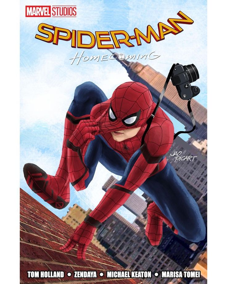 "Free Comic Book Day Wallpaper: (@jaopicksart) On Instagram: ""I Made A Spider-Man"