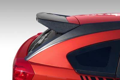 SRT carbon fiber spoiler
