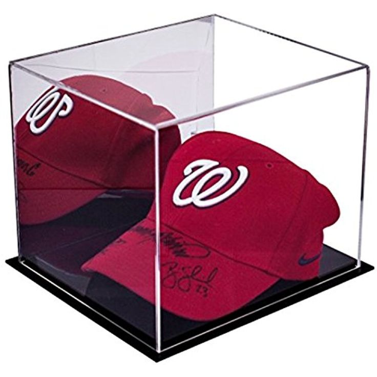 Small Display Case With Clear or Mirror 8.75 x 7.75 x 7