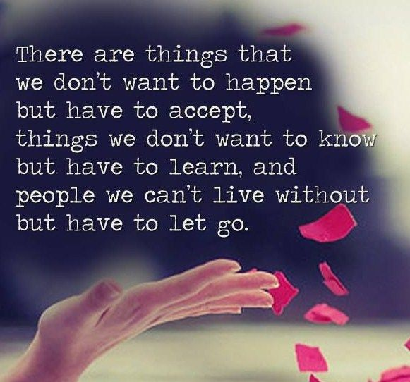 15 letting go of someone you love quotes - Letting Go Quotes