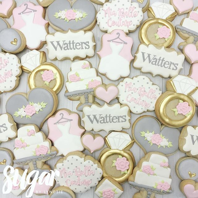 Cookies For Contest Winning Watterswtoo Bridal Retail Stores Customcookies Decoratedcookies Dfw