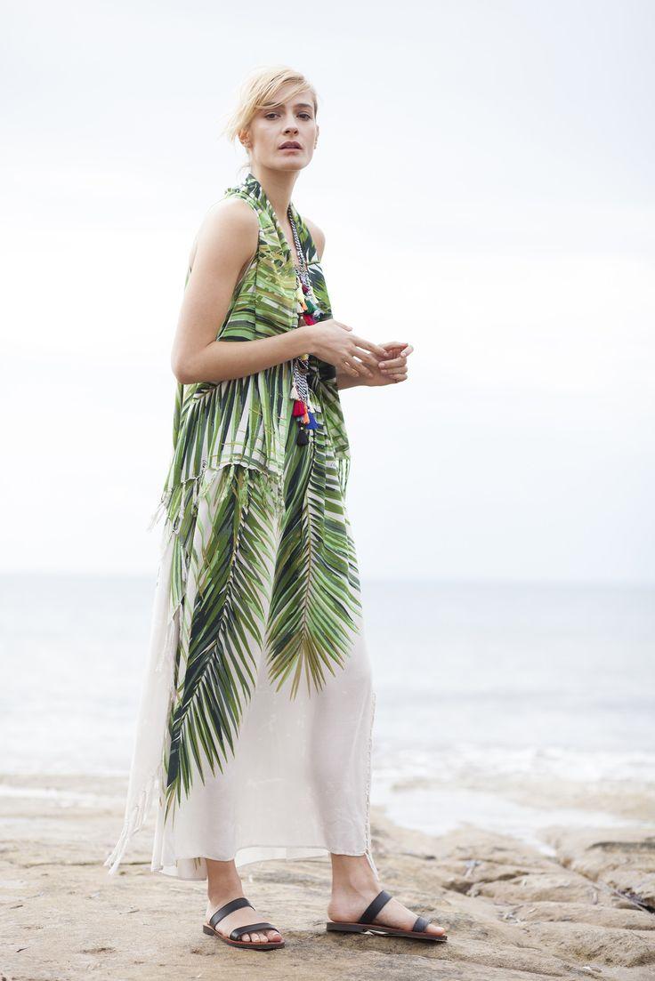 PALMA pareo dress item code: #0428 ** http://www.cleogatzeli.com/shop/pareo-dresses/palma-pareo-dress/