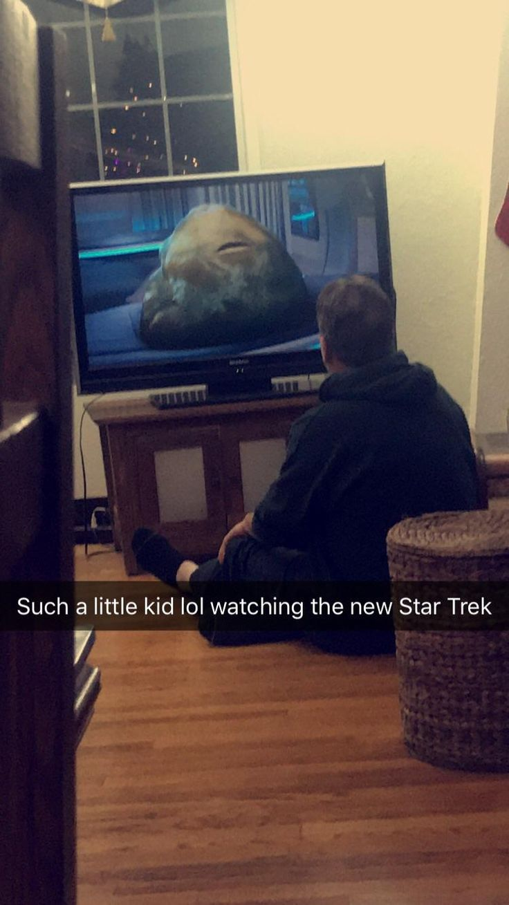 So cute came in to my dad in front of the tv watching the new star tek like a little kid on Sunday morning. #parents #parenting #kids #children #family #best #single #moms #teachers #show #love