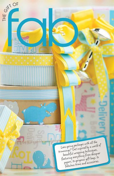 Love giving packages with all the trimmings? Get inspired by a world of beautiful wrapping techniques, featuring everything from designer papers, to gorgeous gift bags, to fabulous trims and accessories.Fabulous Trim, Gift Bags, Gorgeous Gift, Wraps Techniques, Gift Wraps, Amy Shower, Wraps Gift, Design Paper, Beautiful Wraps