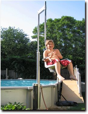 17 best images about pool hoists on pinterest technology dolphins and pool chairs for Swimming pool lifting out of ground
