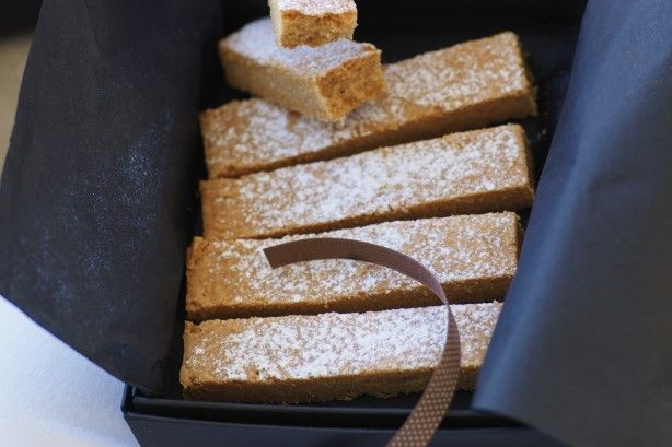 Cinnamon gives this crunchy shortbread a deliciously different flavour.