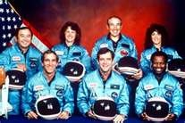 "Space Shuttle "" Challenger "" Crew Lost January 28 1986 Challenger Shuttle Crew. Top row, from the left: Ellison Onizuka Mission Specialist, Christa McAuliffe a School Teacher. She was one of 11,000 educators who applied for entrance into the astronaut ranks."