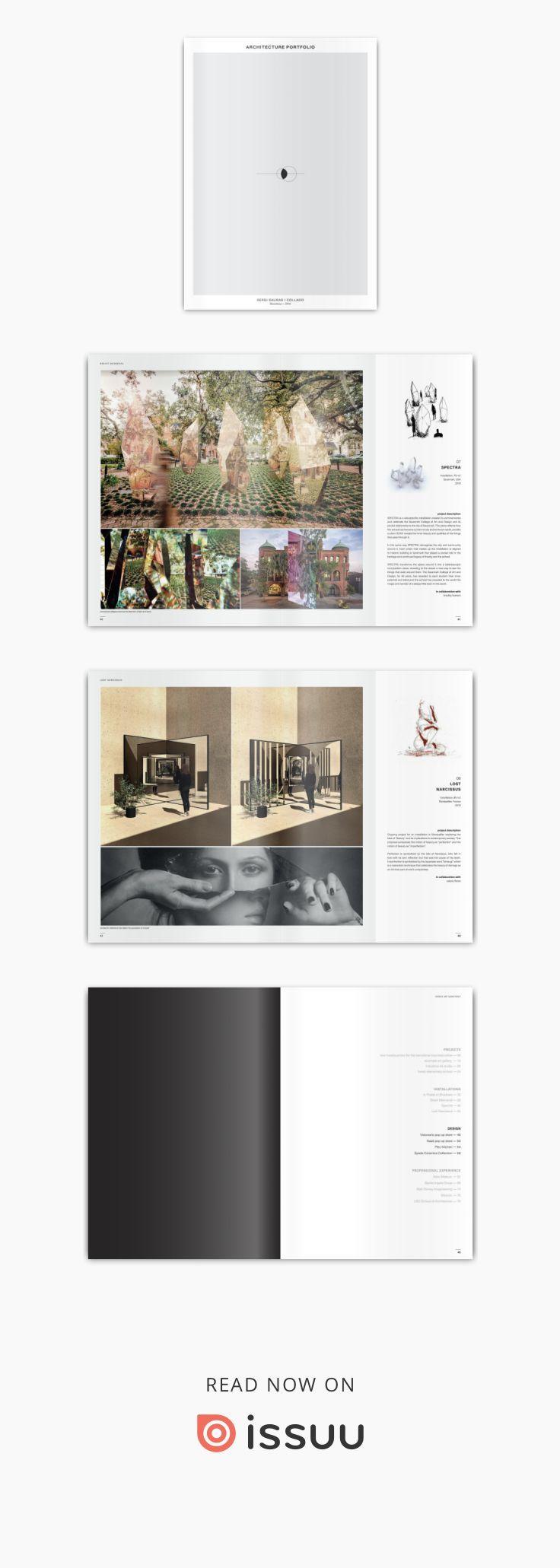 Sergi Sauras – Arquitetura de Portfólio   – college & career