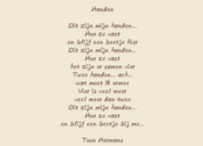 Bekend Gedichten Toon Hermans Overlijden RJ86 | Belbin.Info DE33