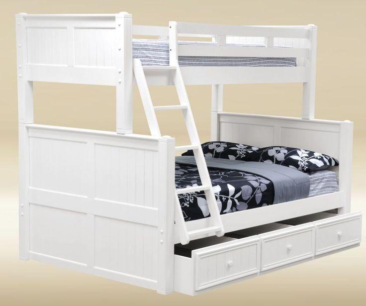Best 25 Twin Full Bunk Bed Ideas On Pinterest: 25+ Best Ideas About Trundle Bunk Beds On Pinterest