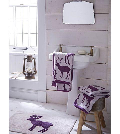 """Ręcznik """"Stag Mulberry"""", 50x85 cm"""