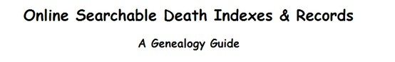 Death Indexes US