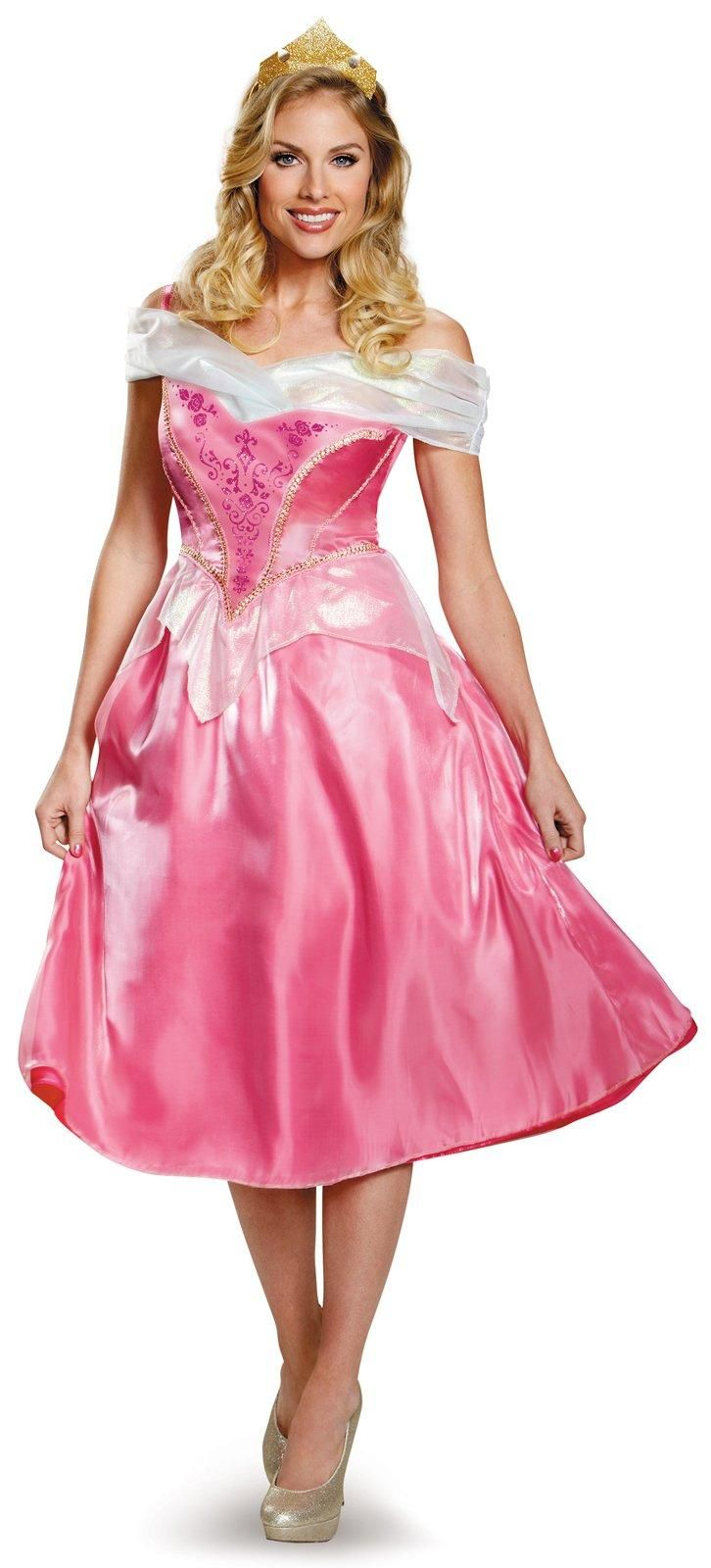 Disney Princess Womens Deluxe Plus Size Sleeping Beauty Costume from Buycostumes.com