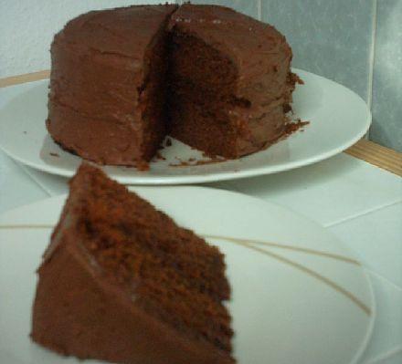 Bero Recipes Chocolate Fudge Cake