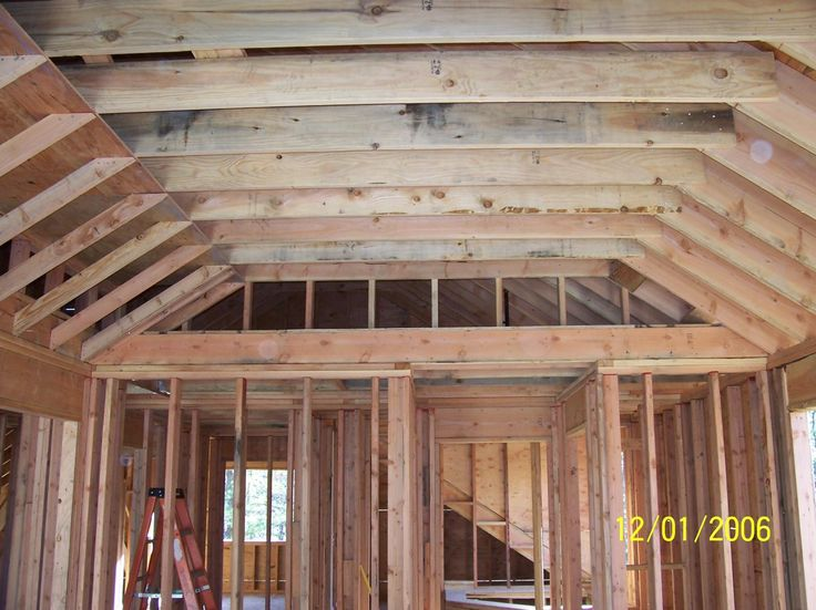 Not Have The Vaulted Ceiling Come To A Point Home