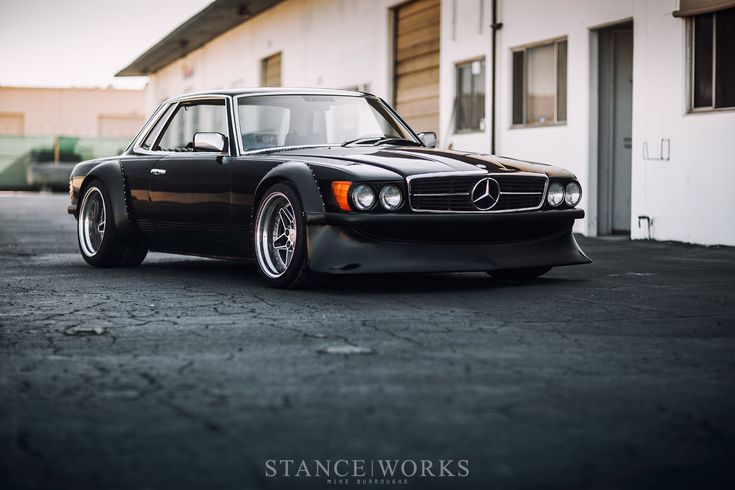 Widebody Mercedes C107 SLC Coupe