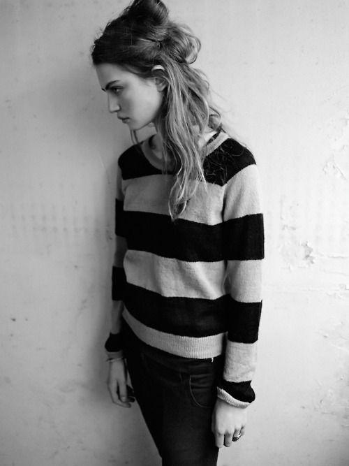 stripe sweater style