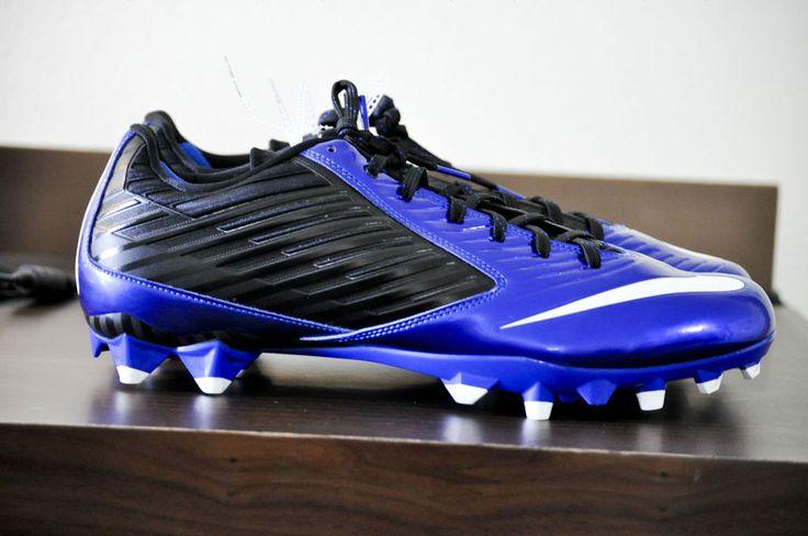 Nike Vapor Speed Low TD Men Football Cleat Sport Royal/White size 14.5 D NEW #Nike