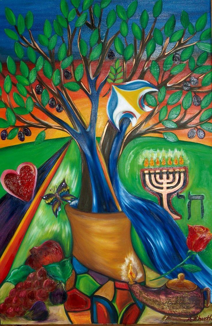 Jewish Tree Of Life Art Etz Chaim Tree Of Life By Tree