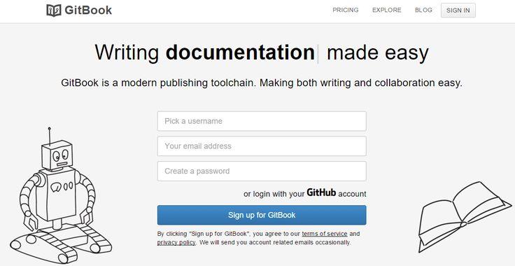 GitBook crear libros digitales manuales