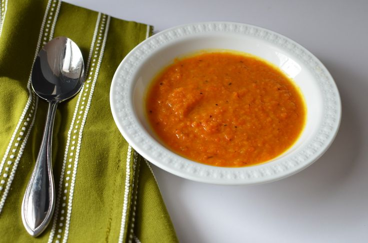Roasted Carrot Soup | Recipe | Roasted Carrot Soup, Carrot Soup and ...