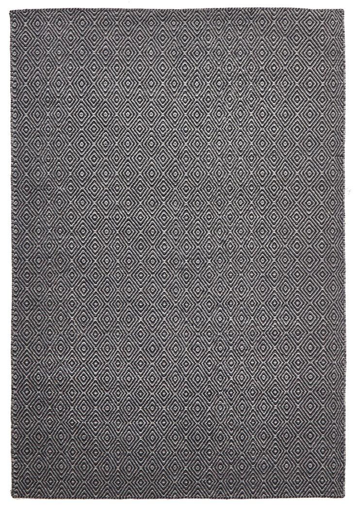 Nordic 304 Black Wool Rug - Rugs Express | Online Rug Store Australia