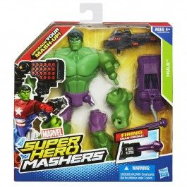 Incredible Hulk 6 Inch Figure - Marvel Avengers Super Hero Mashers Battle Upgrade