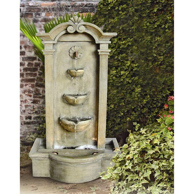 Have to have it. Kenroy Sienna Indoor/Outdoor Floor Fountain - $430 @hayneedle