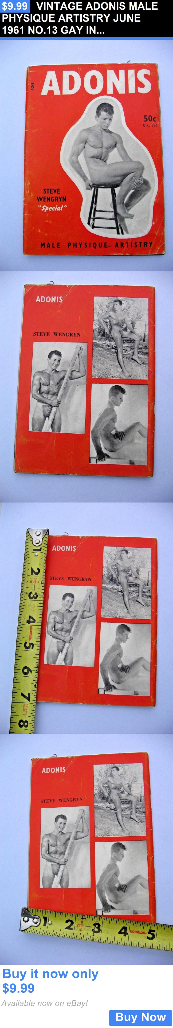 Magazines: Vintage Adonis Male Physique Artistry June 1961 No.13 Gay Interest Magazine Find BUY IT NOW ONLY: $9.99