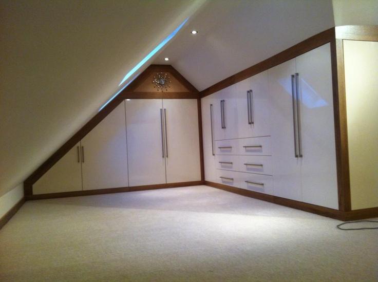 built in loft storage