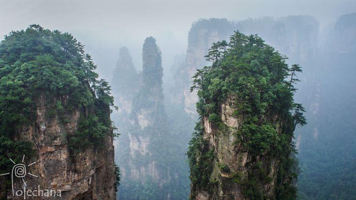 CHINY - Park AVATARA - Zhangjiajie