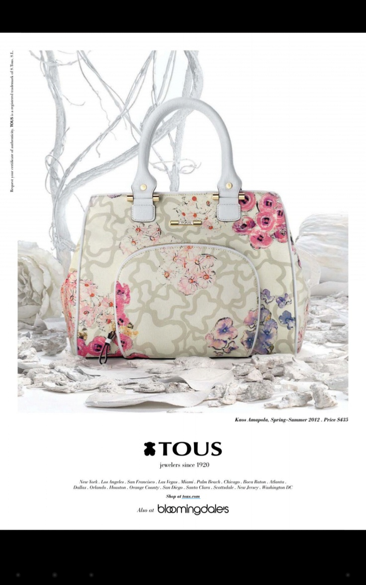 Tous handbag. Love at first sight!
