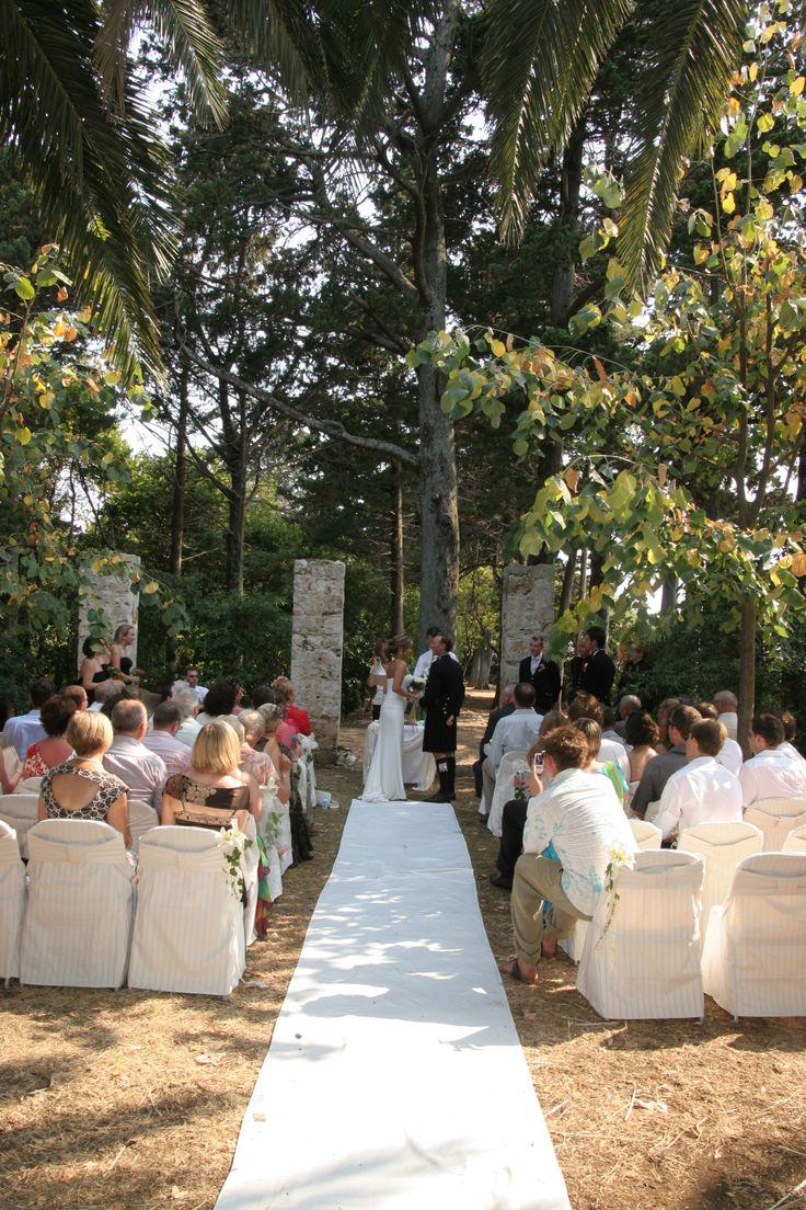 Lokrum Island  wedding