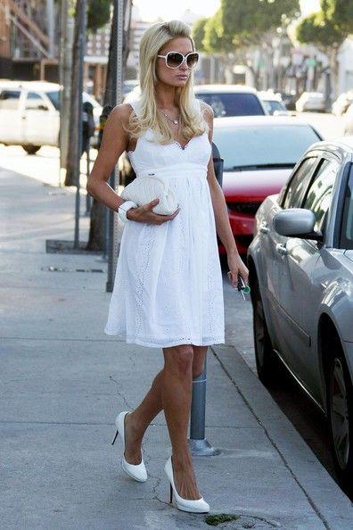 More Pics of Paris Hilton Round Sunglasses (6 of 31) - Paris Hilton Lookbook - StyleBistro