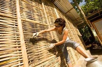 Resultado de imagem para bamboo installation