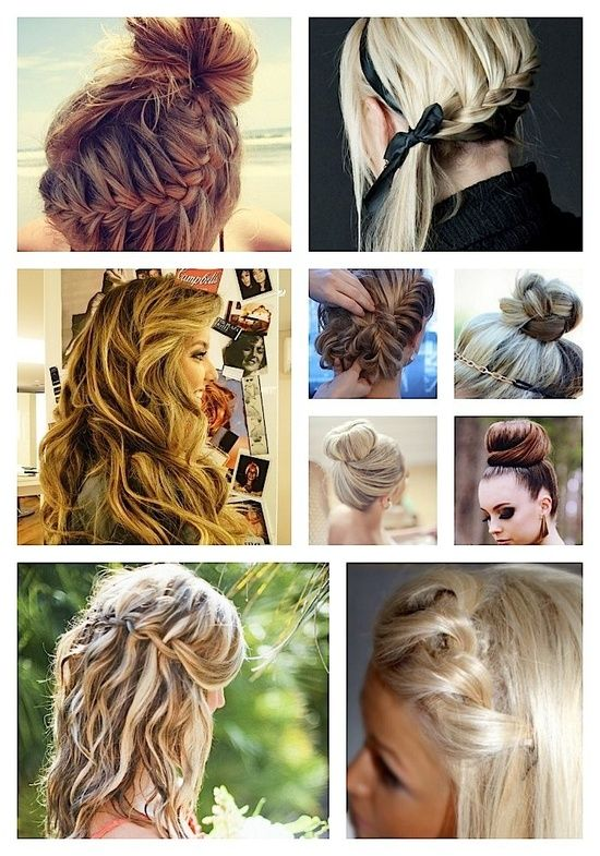 100 hairstyles every women should try. Well, guess I'll be pretty busy this summer
