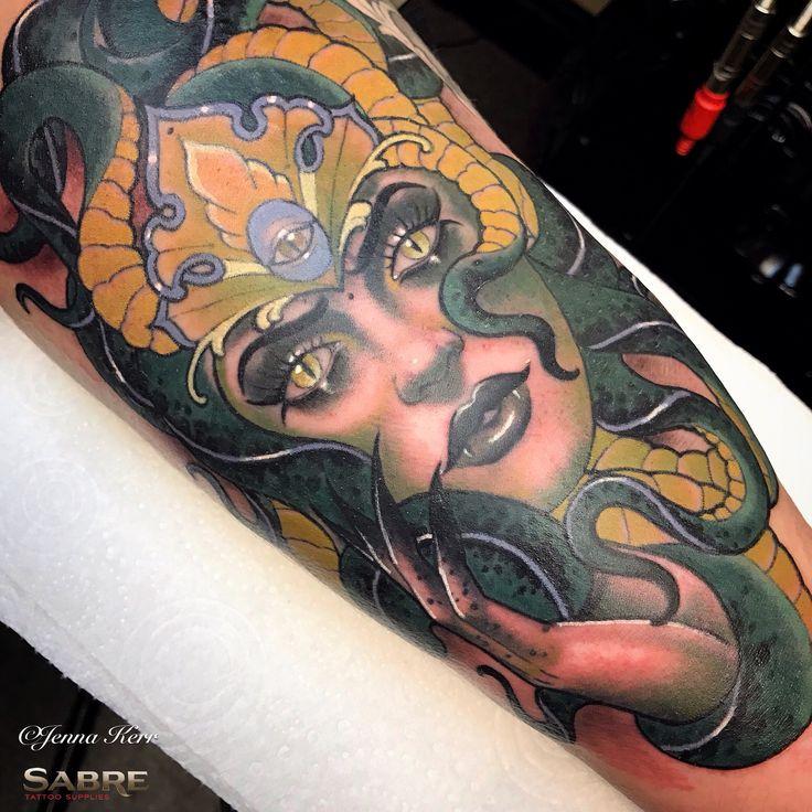 #medusa #neotraditional #tattoo