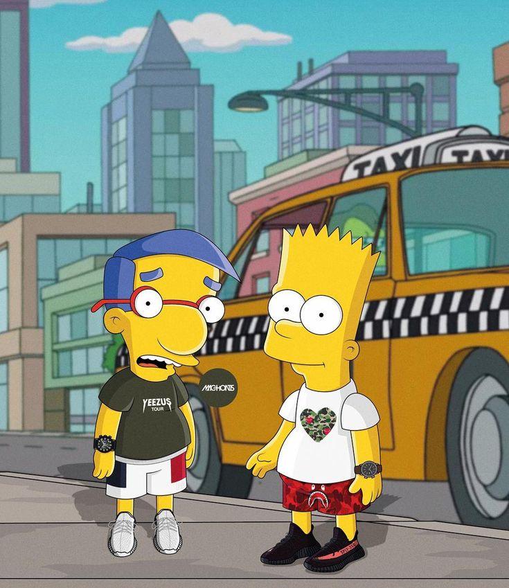 Supreme The Simpsons: 25+ Best Yeezus Wallpaper Ideas On Pinterest