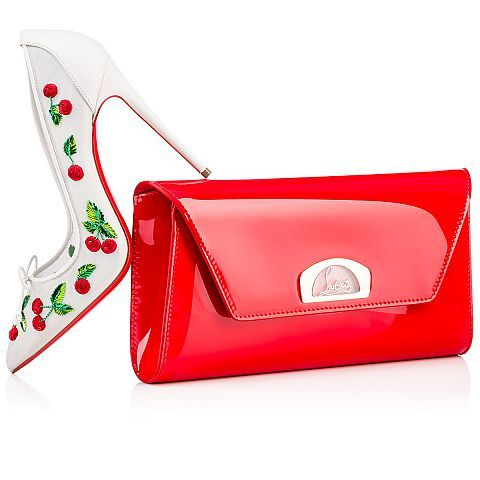 Cherrypump 100 VERSION LATTE Chiffon - Women Shoes - Christian Louboutin