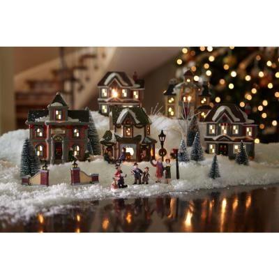 181 best Christmas Villages (Obsessive Hobby) images on Pinterest ...