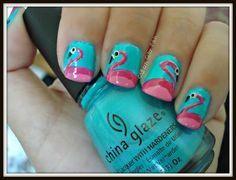 cute artwork flamingos - Google Search