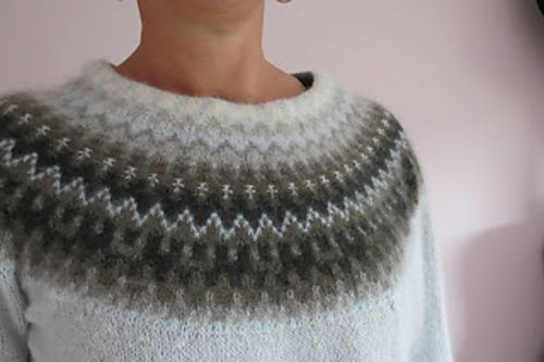 Ravelry: miastick's Gotiska fönstret blå....another example of beautiful knitting...now I want to go ice skating!