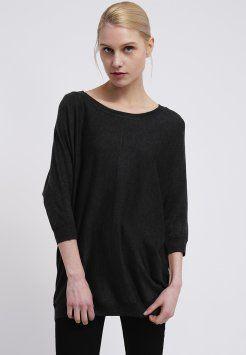 ONLY - BELIEVE - Pullover - dark grey melange