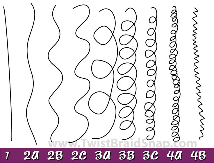 Natural Hair Type categories to help identify products to enhance your curls.