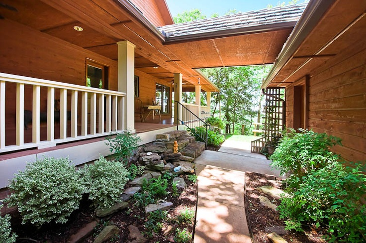 1000 images about home breezeways on pinterest for Breezeway connecting garage to house