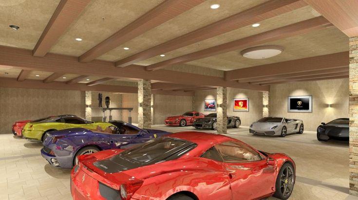 The 25 best underground garage ideas on pinterest car for Garage automobile 74