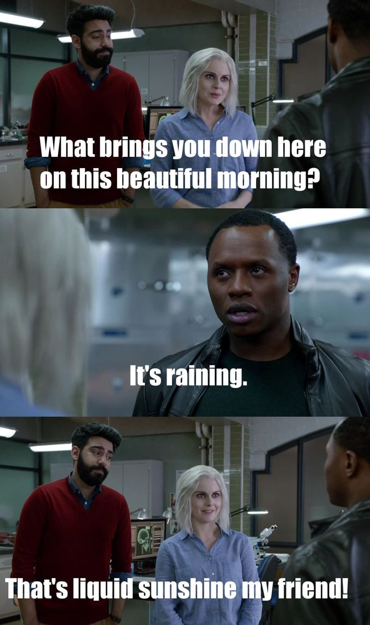 "#iZombie 2x14 ""Eternal Sunshine of the Caffeinated Mind"" - Ravi, Liv and Clive"
